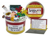 Anniversary Survival Kit In A Can (To Give A Couple)